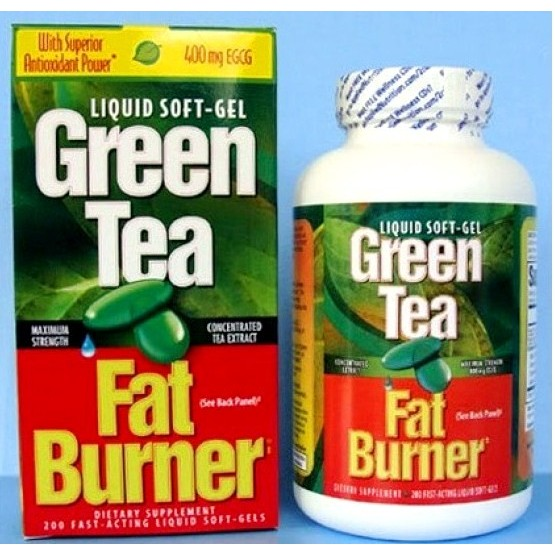 Green Tea Fat Burner hộp 200 viên viên giảm cân từ trà xanh