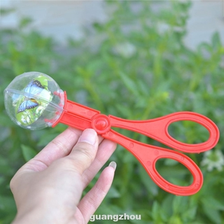 Bug Clamp Toys Collection For Kids Handy Multifunctional Plastic Random Color Insect Catcher Scissors