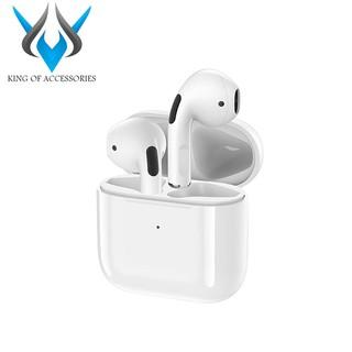Tai nghe Bluetooth TWS Remax TWS-10i V5.0 Thiết kế nhỏ gọn, Thời trang (Trắng) - Nhất Tín Computer