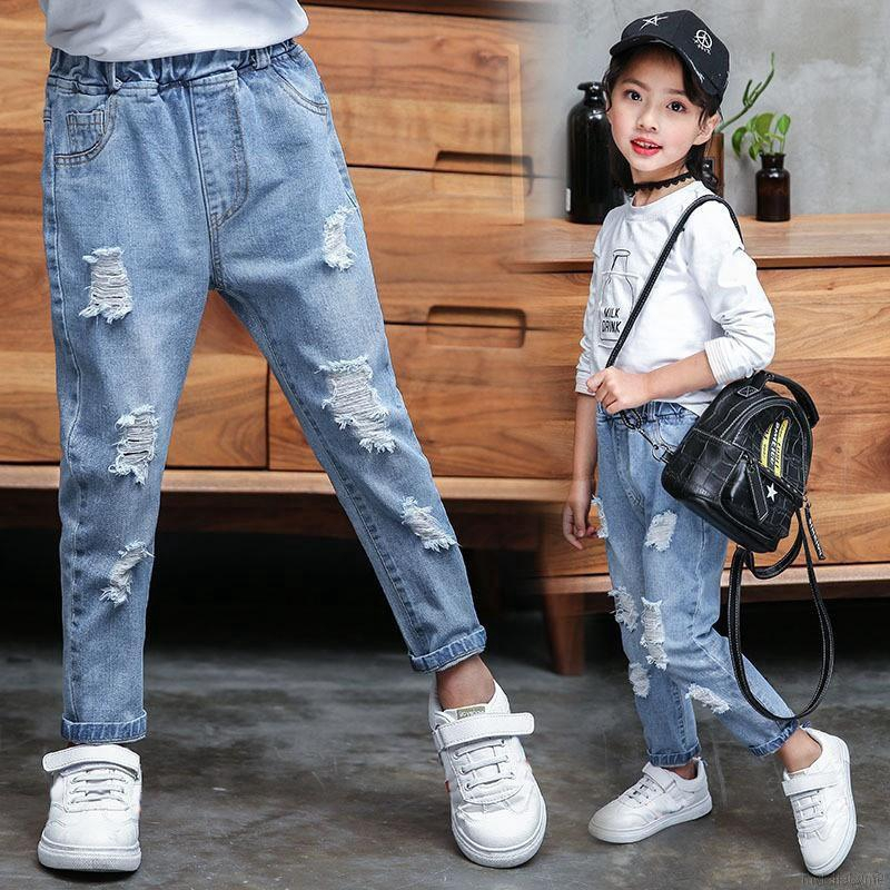 💕 My Baby 💕  Kids Baby Boys Denim Pants Cute Long  Sports