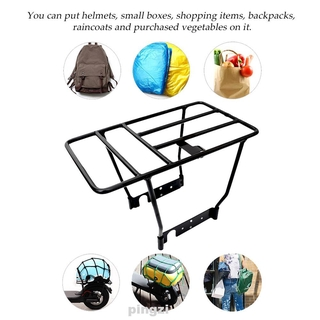 Rear Shelf Storage Iron Luggage Carrier With Screws Electric Scooter Accessories For Xiaomi M365 1s Pro