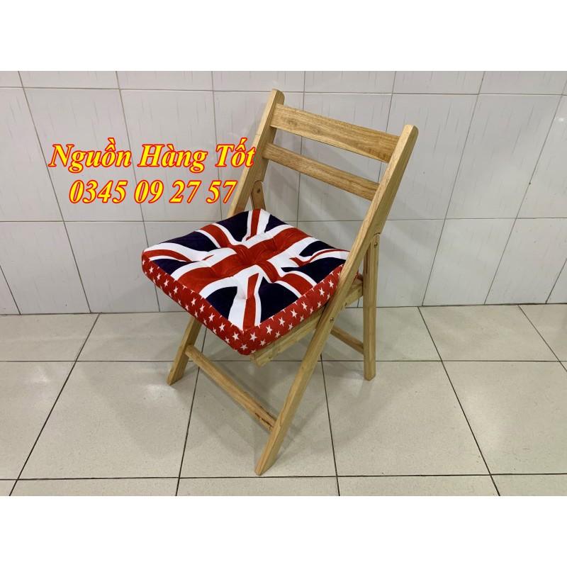 Đệm Ngồi Bệt Vuông 40x40cm - Đệm Ngồi Bệt - Gối Tựa Lưng Trang Trí