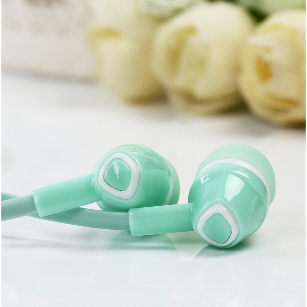 Tai nghe jack 3.5mm thiết kế dễ thương xinh xắn