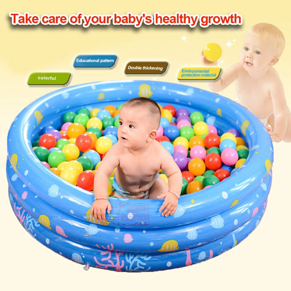 PVC Kids Swimming Water Play Inflatable Pit Ball Pool