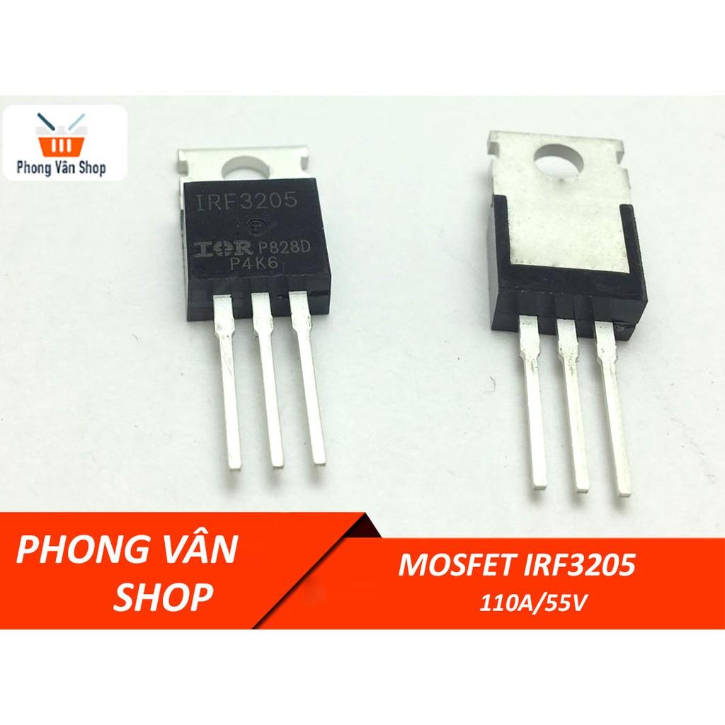 IRF3205 Mosfet 55v-110a lưng bạc loại thường mới