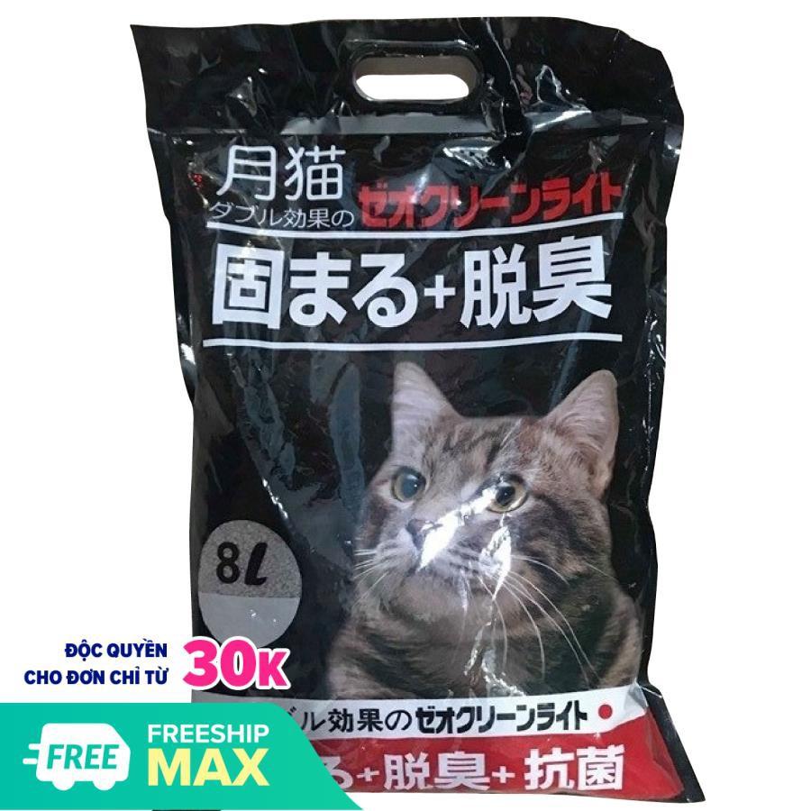 CAT LITTER Cát vệ sinh cho mèo - Cát vệ sinh khử mùi diệt khuẩn cho mèo cát Nhật Bản 8L