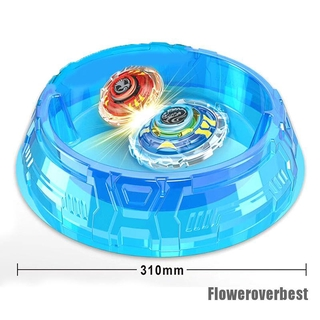 [FlowerBoys] Arena Blue Guild Wars Set Battle Gyro Battle Field Disk Spinning Top Classic Toy