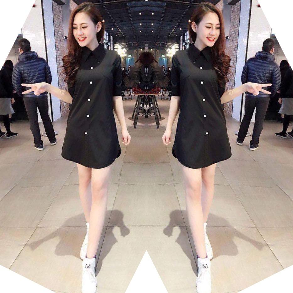 Váy Đầm Sơ Mi Dáng Suông WM DRESS 800020 B