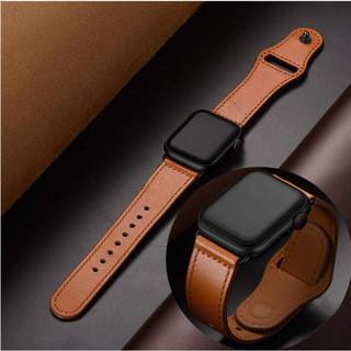 Dây da thiết kế trẻ trung hợp thời trang cho đồng hồ Apple
