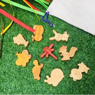 Bộ đồ chơi gỗ chủ đề Khu rừng xanh – đồ chơi gỗ an toàn cho bé