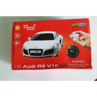 Xe 1:32 Audi R8 V10 (3D PUZZLE)