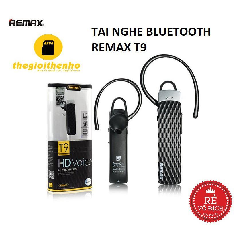 TAI NGHE BLUETOOTH REMAX T9- BH 12