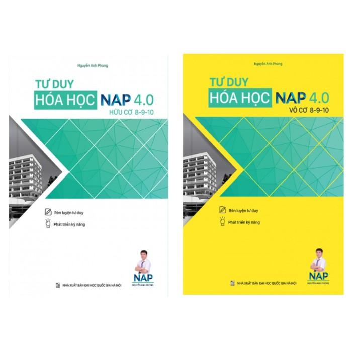 Sách - Combo Tư Duy Hóa Học NAP 4.0 - 8-9-10 (Vô Cơ - Hữu Cơ)