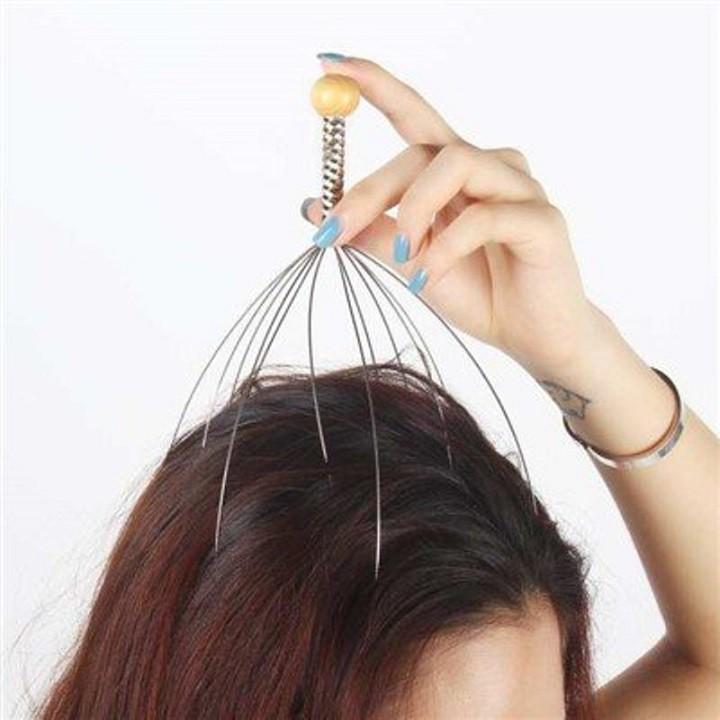 Cây massage đầu
