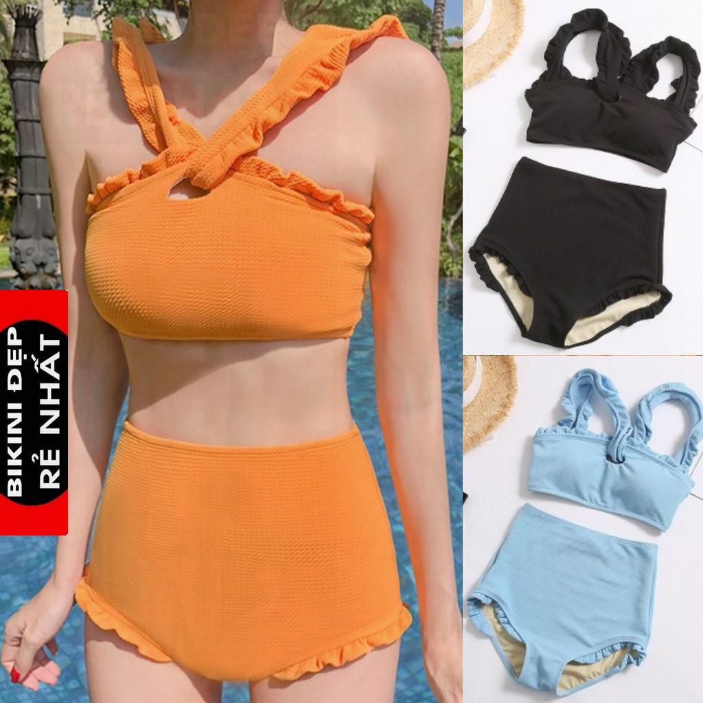 Set Đồ bơi tập bơi bikini tắm biển nữ rời phong cách hàn quốc 2019 ( có sẵn) Bi 5 MÀU | WebRaoVat
