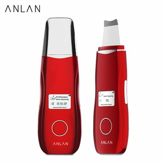 ANLAN EMS Skin Scrubber Ultrasonic Facial Cleansing Machine Blackhead Removal Device thumbnail
