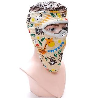 Mặt nạ bảo hộ chống tia UV Knoxon Cam họa tiết - M014