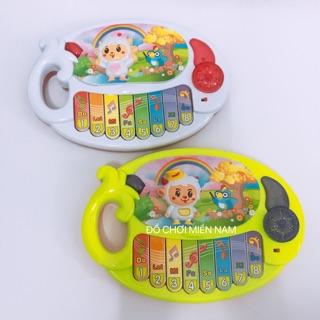 [Có đèn nhạc] Đồ chơi đàn piano nhỏ 2 chế độ dành cho bé
