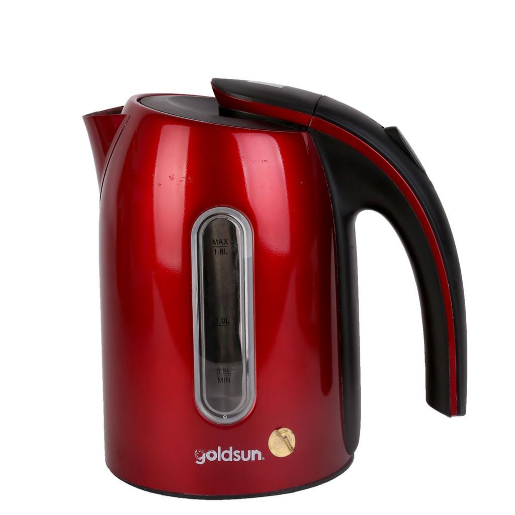 Bình đun siêu tốc Goldsun EK-GF1836SR đỏ 1.7L