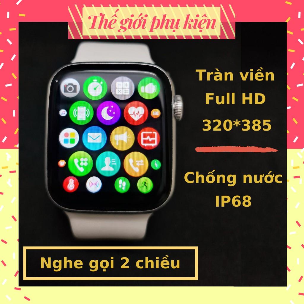 Đồng hồ thông minh thời trang 💕 Giảm 15k  smart watch nhập [Tai nghe 15] 💕 Đồng hồ nam nữ tràn viền cảm ứng vân tay