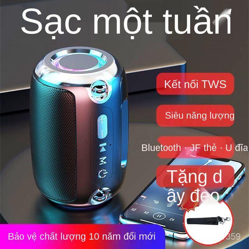 Bluetooth Âm Thanh Chất Lượng Cao Loa Siêu Trầm Lớn Âm Lượng Máy Tính Ngoài Trời Hộ Gia Đình Thẻ Ổ Đĩa Flash USB Điện Th