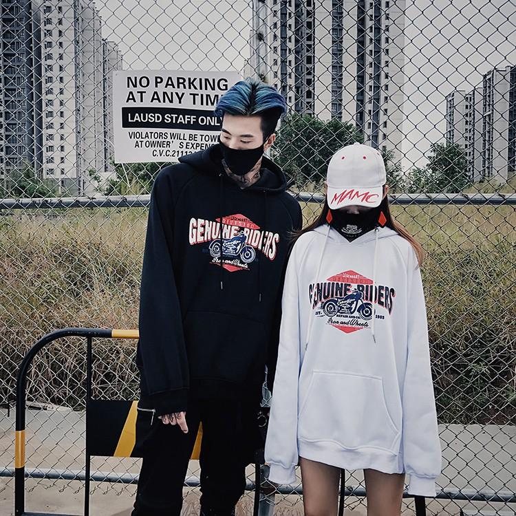 Hoodies unisex các tính form rộng áo khoác lạnh Ulzzang Hàn Quốc Order - Áo khoác nỉ