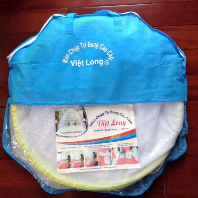 Màn chụp tự bung cao cấp Việt Long 2 x 2 mét