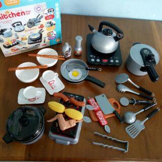 Bộ đồ chơi nấu ăn 36 món siêu xịn cho bé