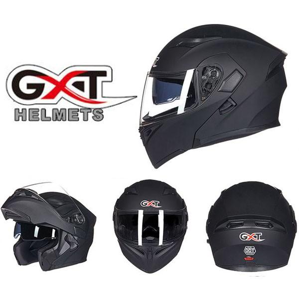 Mũ bảo hiểm Fullface GXT 2017 - Đen nhám