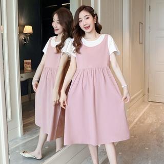 Đầm Maxi Cotton Toàn Diện Size M-2Xl Cho Phụ Nữ Mang Thai