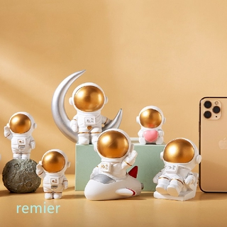 Toy 3Pcs/Set Nordic Decor Astronaut Space Rocket Planet Shape Living Room Home Decoration Accessories