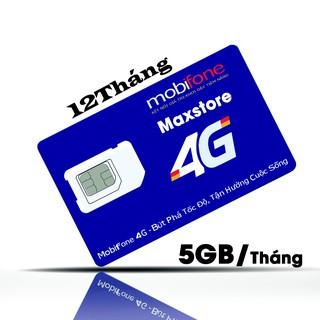 [5GB DATA + 1.000 Phút nội mạng + 20 ngoại mạng/ Tháng] SIM MOBIFONE CHÍNH CHỦ