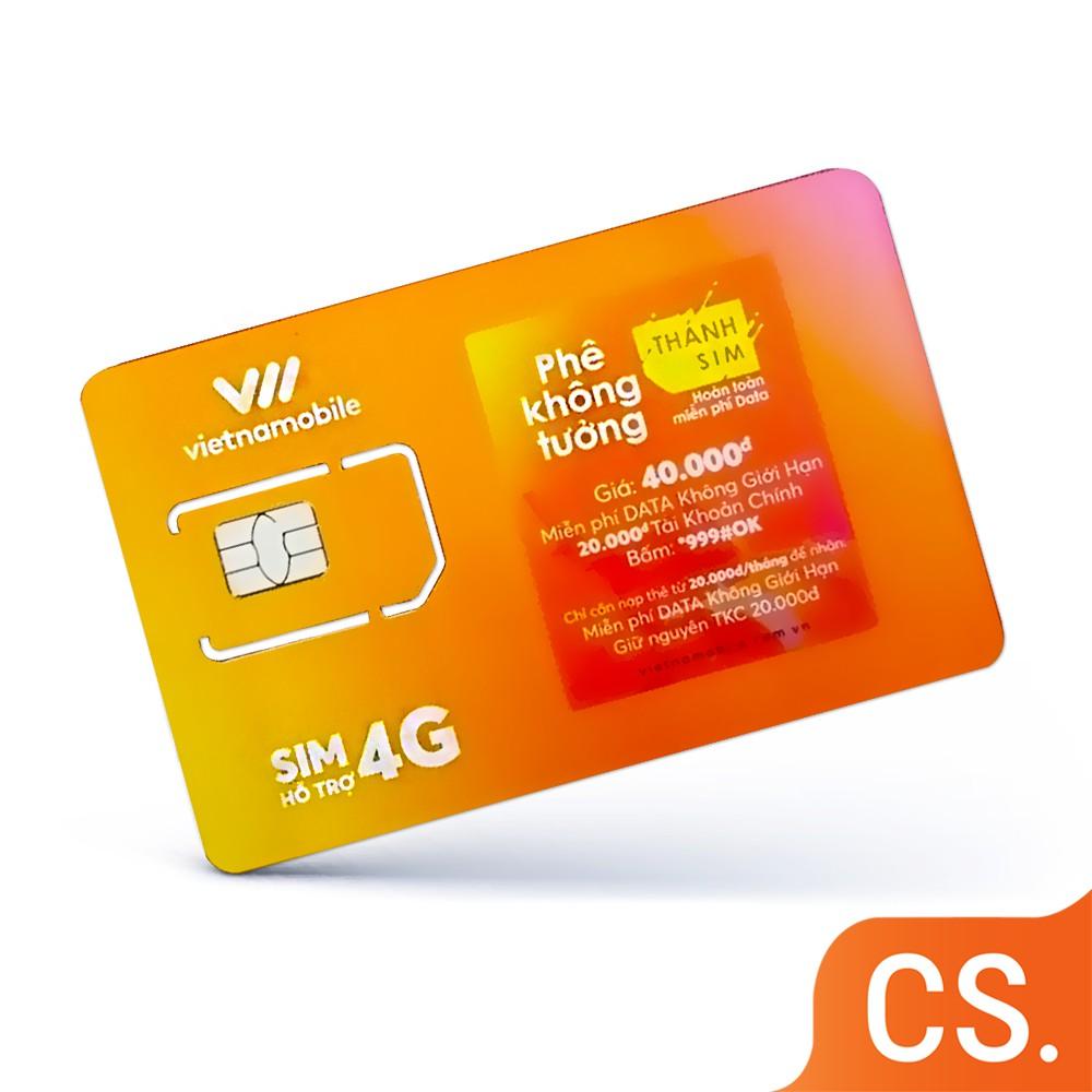 Siêu Thánh Sim Vietnamobile Tặng 120GB DATA/