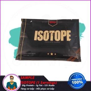 [XẢ KHO] Gói Dùng Thử Sữa Tăng Cơ Bắp isolate Whey Isotope (1 lần dùng) - Redcon1 thumbnail