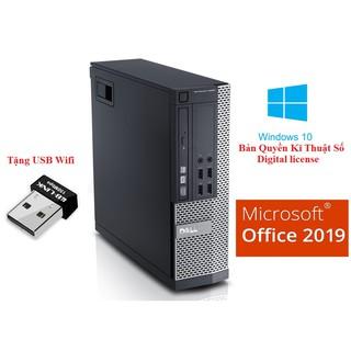 Cây Dell OPTIPLEX 7020 Sff Siêu nhanh CPU i5 4570 Ram 8Gb SSD 240 Gb Win 10 Bản quyền,Chưa bao gồm màn hình
