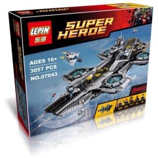 Lepin 07043 Tàu Shield Marvel – Đồ chơi xếp hình, lắp ráp thông minh