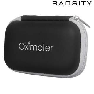 [BAOSITY]Travel Fingertip Pulse Oximeters Case Waterproof Blood Oxygen Sensor Bag Storage