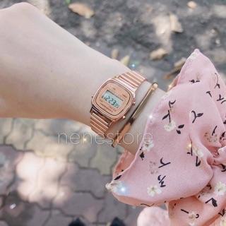 Đồng hồ nữ La670 dây thép kiểu dáng sang trọng cho tuổi teen