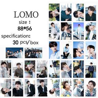 RQRHộp 30 ảnh lomo Cards trong suốt thời trang cho Fan nhóm BTS