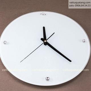 Phôi đồng hồ thuỷ tinh tròn 30cm