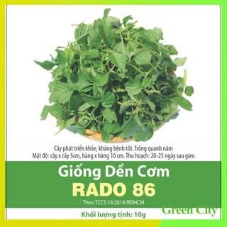 Hạt giống Dền Cơm RADO 86 – Green City