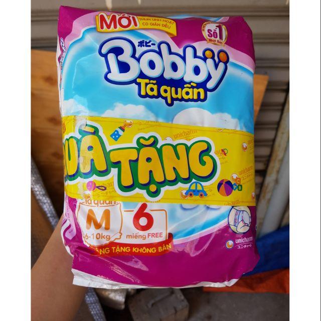 TÃ QUẦN BOBBY M 60 MIẾNG (COMBO HÀNG KM MẪU KHÔNG TRÀ