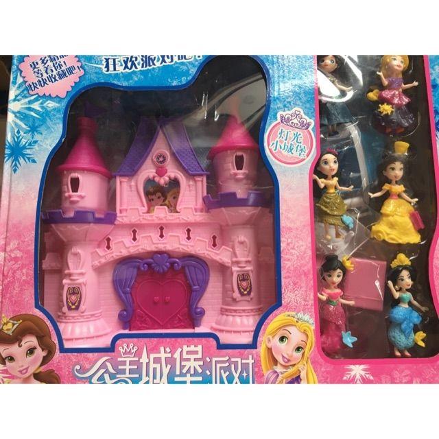 Tòa Lâu đài và 6 công chúa