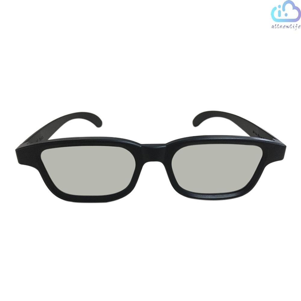 A&L G90 Passive 3D Glasses Polarized Lenses for Cinema Lightweight Portable for Watching Movies