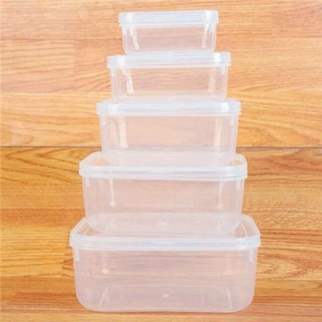 Hộp nhựa dẻo  Song Long có nắp, hôp đựng phụ liệu hộp nhựa đựng hạt hộp nhựa giá rẻ hộp nhựa đựng thực phẩm Cici Handmad
