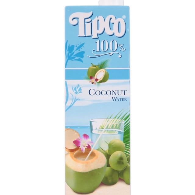 Nước Dừa Tipco Hộp 1 L
