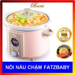 Nồi nấu chậm Fatz baby 1,5 Lít -2,5 Lít