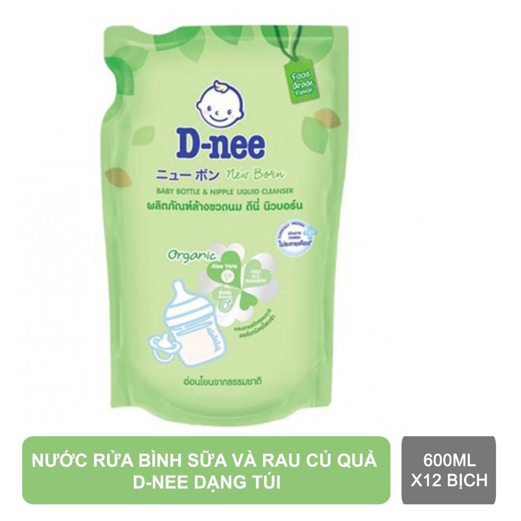 Nước rửa bình sữa Dnee Organic 600ml