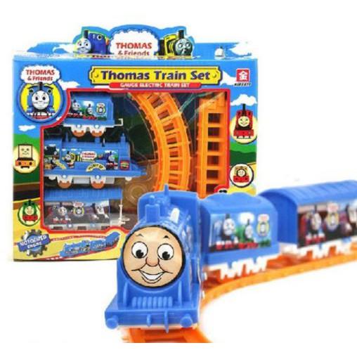 Đoàn xe lửa Thomas chạy pin (không kèm pin) GIAO MẪU NGẪU N
