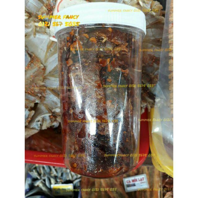 300gr Cá bò da rắc mè ăn liền / Cá bò da khô mè / Cá bò rim mè - Đặc sản miền Trung